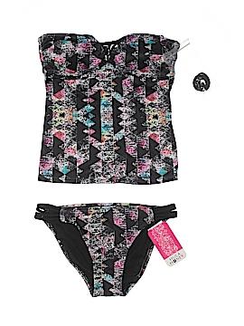 8135769642 Hula Honey Two Piece Swimsuit Size M