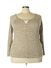 Lane Bryant Women Long Sleeve Top Size 14 - 16 Plus (Plus)