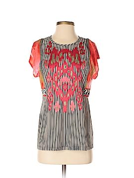 Ranna Gill Short Sleeve Blouse Size XS