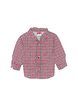 Sprockets Long Sleeve Button-Down Shirt Size 6-9 mo