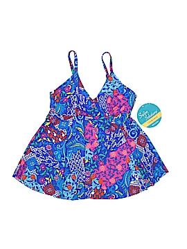 Caribbean Joe Swimsuit Top Size 8