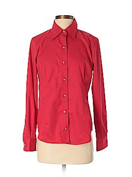 Devon & Jones Long Sleeve Button-Down Shirt Size S