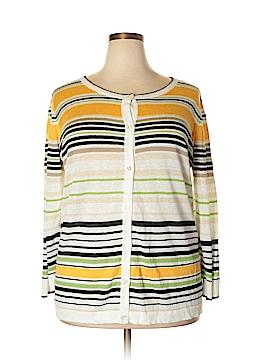 Jones New York Collection Cardigan Size 1X (Plus)