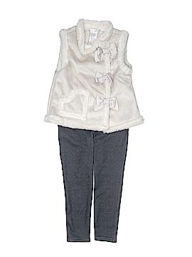 Maggie & Zoe Faux Fur Vest Size 4T