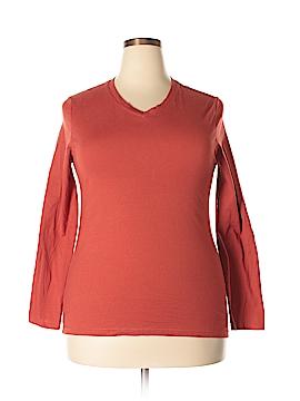 Faded Glory Long Sleeve T-Shirt Size 20 (Plus)