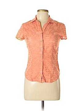 Nine & Company Short Sleeve Button-Down Shirt Size 4
