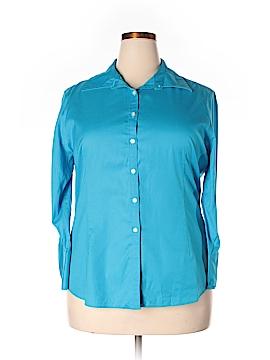 KIRKLAND Signature 3/4 Sleeve Button-Down Shirt Size XXL