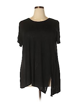 RACHEL Rachel Roy Short Sleeve Top Size 2X (Plus)