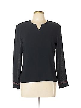 Kasper & Company ASL Long Sleeve Blouse Size 10