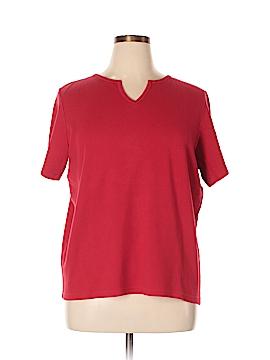 Jennifer Moore Short Sleeve T-Shirt Size 1X (Plus)