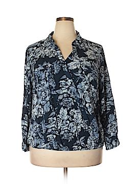 Como Vintage Long Sleeve Button-Down Shirt Size 3X (Plus)
