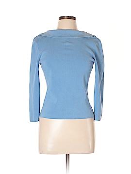 U-Knit 3/4 Sleeve Silk Top Size L