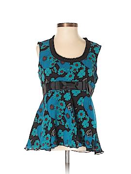 Anna Sui Sleeveless Blouse Size 2