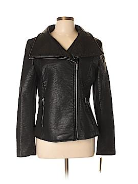 RACHEL Rachel Roy Faux Leather Jacket Size L