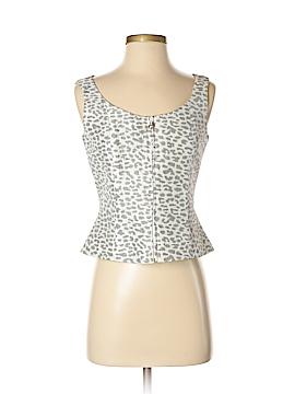 Flores & Flores Sleeveless Silk Top Size 4