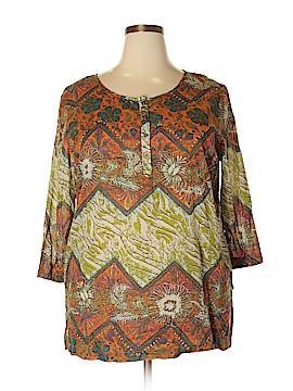 Jaclyn Smith 3/4 Sleeve Blouse Size XXL