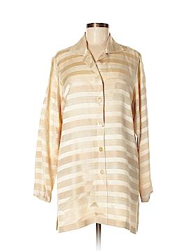 Linda Allard Ellen Tracy 3/4 Sleeve Button-Down Shirt Size 6
