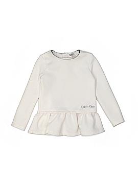 Calvin Klein Long Sleeve Top Size 4T