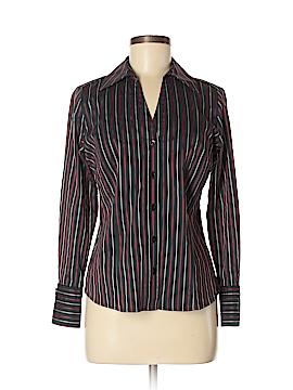 Alfani Long Sleeve Button-Down Shirt Size 6