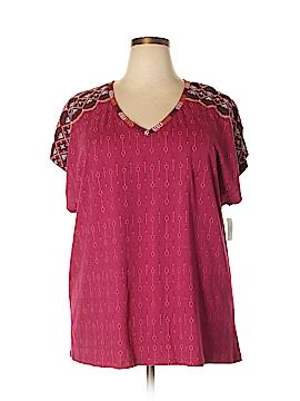 Style&Co Sport Short Sleeve T-Shirt Size 1X (Plus)