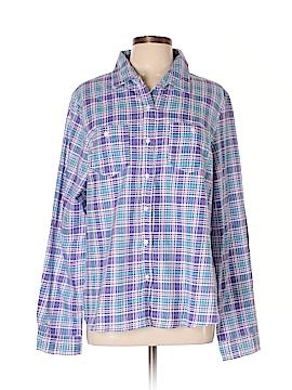Metropolitan Long Sleeve Button-Down Shirt Size XL