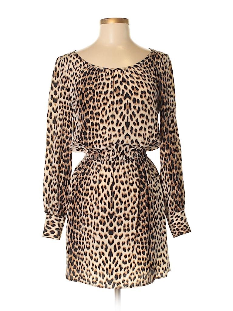 Aaron Ashe Women Casual Dress Size XS