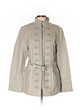 Ebene by Patrick Assuline Leather Jacket Size 4