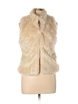 True Love Faux Fur Vest Size M