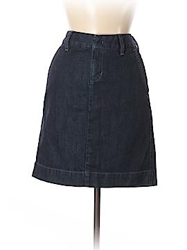 Eddie Bauer Denim Skirt Size 4 (Petite)