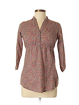 Delia 3/4 Sleeve Button-Down Shirt Size M