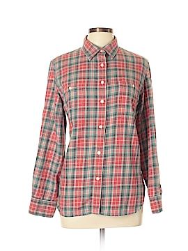 Lauren Jeans Co. Long Sleeve Button-Down Shirt Size XL (Plus)