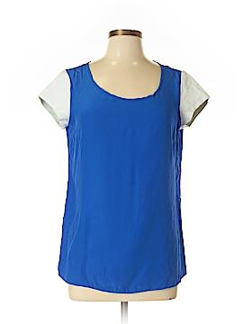 Drew Short Sleeve Silk Top Size M