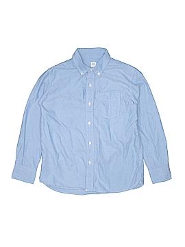 Gap Long Sleeve Button-Down Shirt Size 10 (Husky)