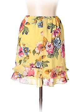 Boston Proper Silk Skirt Size XS