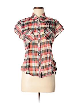 Harley Davidson Short Sleeve Button-Down Shirt Size M