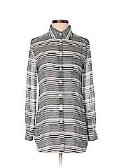Moda International Women Long Sleeve Blouse Size XS