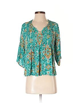 World Market 3/4 Sleeve Blouse Size S