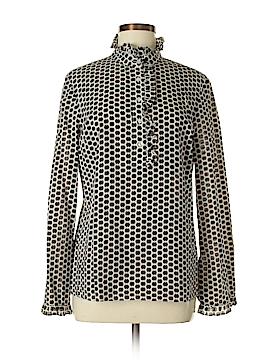 Tory Burch Long Sleeve Button-Down Shirt Size 8