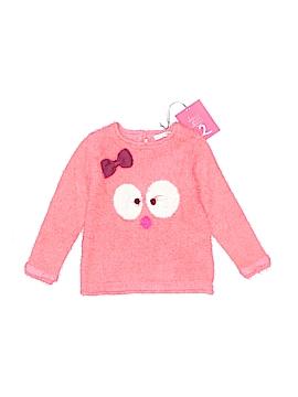 Deux Par Deux Pullover Sweater Size 4