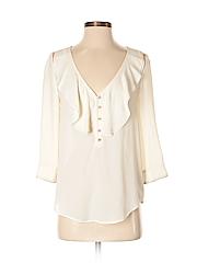 HD in Paris Women 3/4 Sleeve Blouse Size 2