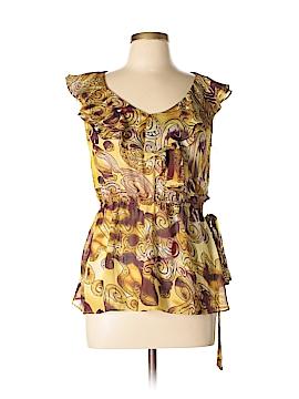 Lapis Short Sleeve Blouse Size L