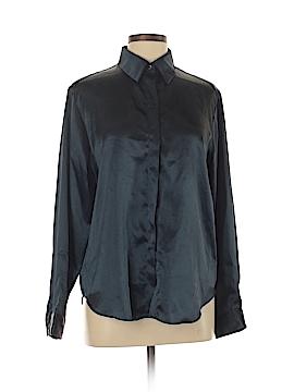 Halston Long Sleeve Blouse Size 12