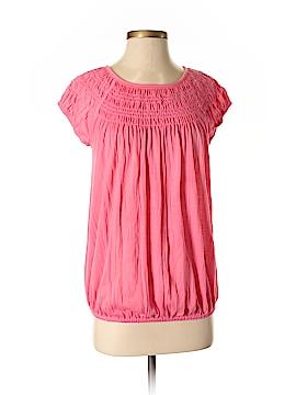 Daisy Fuentes Short Sleeve Blouse Size S