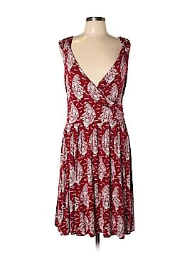 Lands' End Casual Dress Size L (Petite)