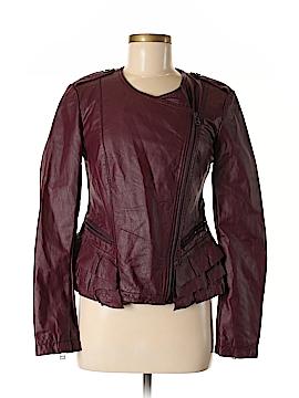 Moda International Faux Leather Jacket Size M