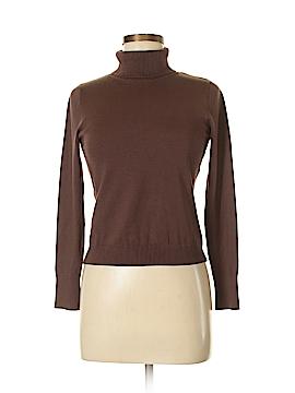 August Silk Turtleneck Sweater Size S (Petite)