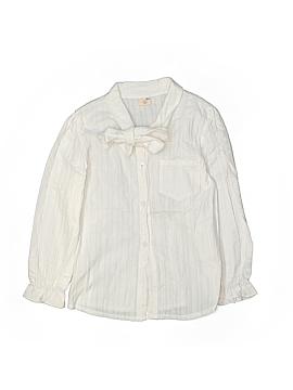 Soho Girls Long Sleeve Button-Down Shirt Size 15