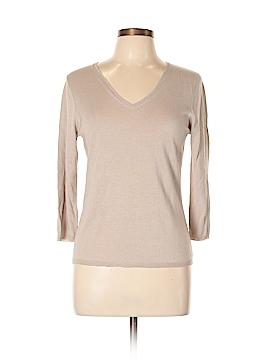 In Cashmere Silk Pullover Sweater Size L