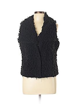 New Directions Faux Fur Vest Size L