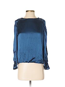 Mango Long Sleeve Blouse Size 4